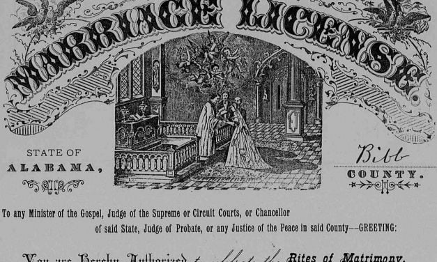 Marshall County, Alabama Marriages 1830's – 1840's