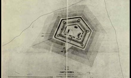 Construction of Fort Gaines