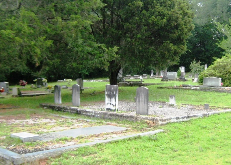 Antioch Primitive Baptist Church Cemetery, Conecuh County, Alabama