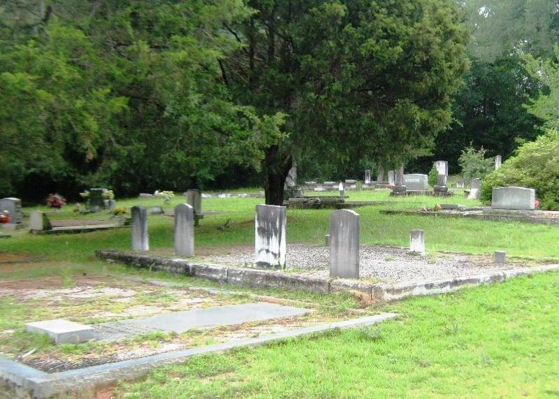 Antioch Primitive Baptist Church Cemetery, Conecuh County, Alabama
