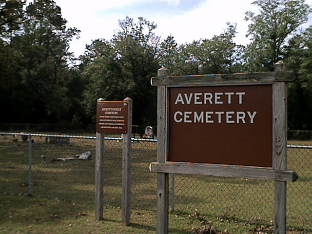Averett Cemetery, Dale County, Alabama