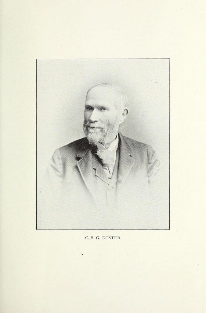 Charles S G Doster